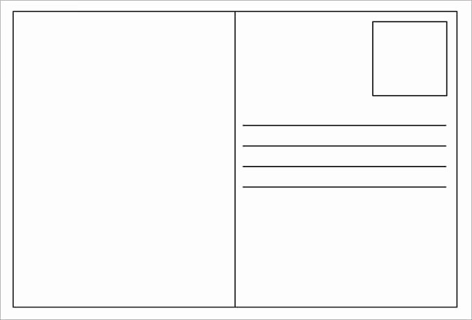 Blank Postcard Template Word Unique Vocabulary Word Templates Invitation Template