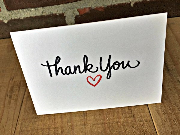Blank Thank You Card Template Awesome 65 Thank You Cards In Psd