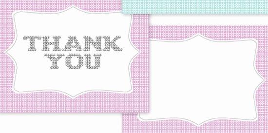 Blank Thank You Card Template Elegant 25 Beautiful Printable Thank You Card Templates Xdesigns
