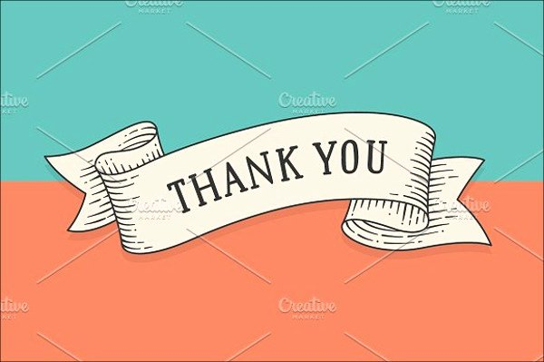 Blank Thank You Card Template Luxury 10 Printable Thank You Card Templates Psd Ai