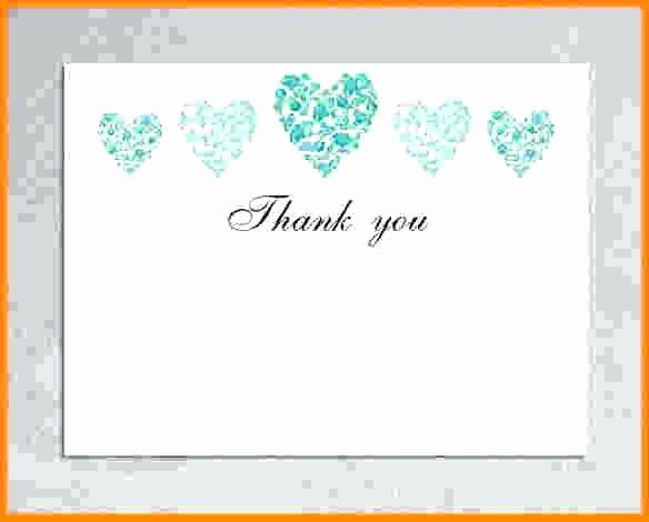 Blank Thank You Card Template Luxury Shape Templates for Word Heart Template – Clntfrd