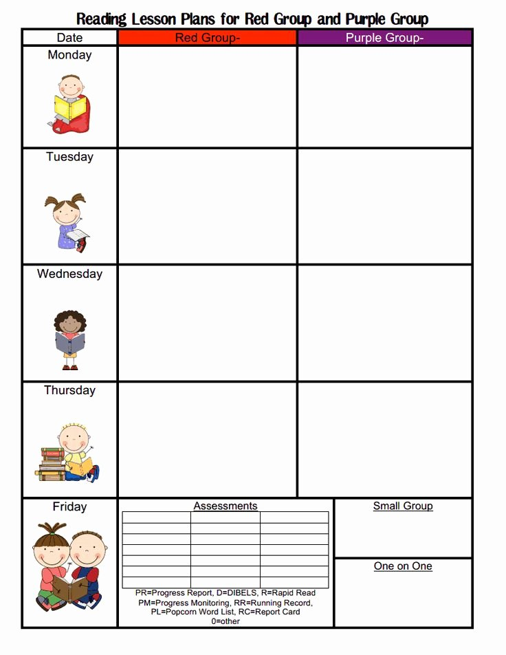 Blank toddler Lesson Plan Template Beautiful Blank Lesson Plan Template Preschool