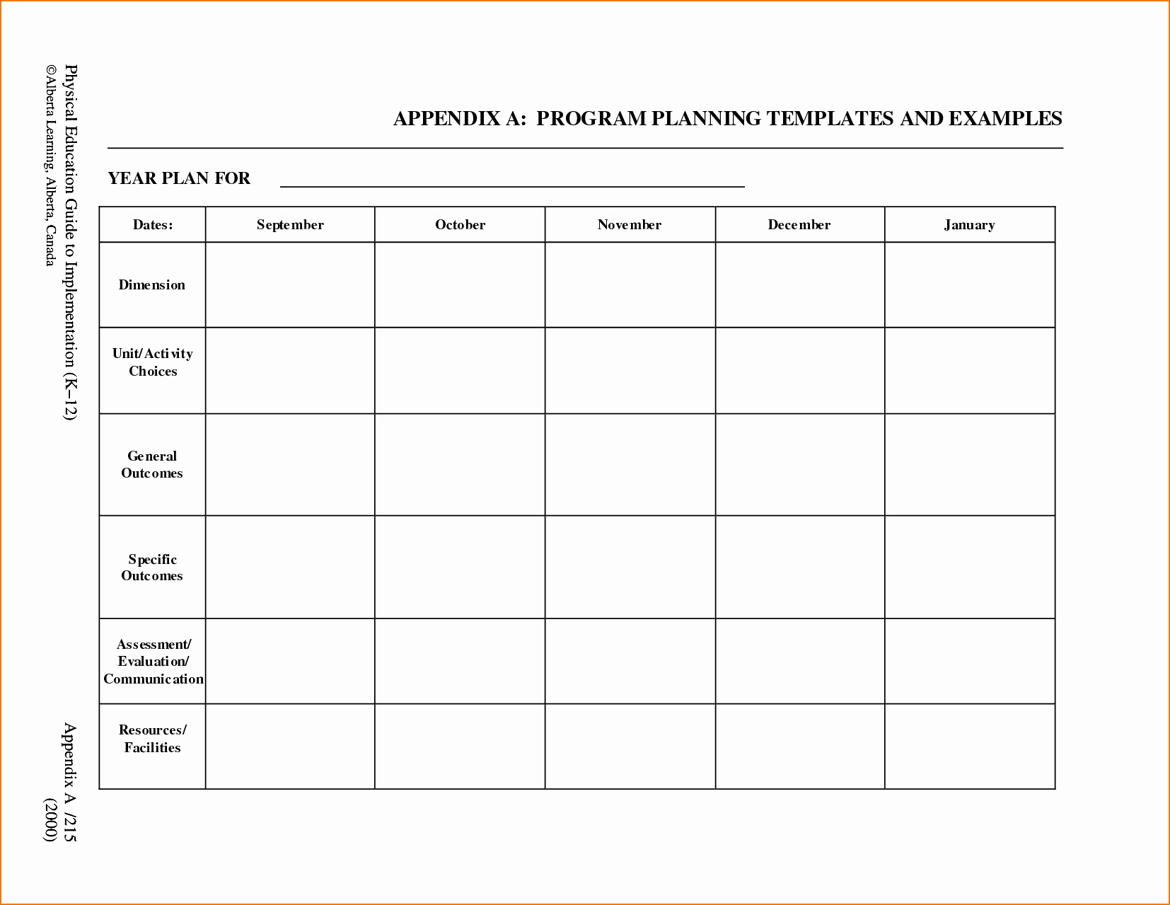 Blank toddler Lesson Plan Template Luxury 5 Free Lesson Plan Template