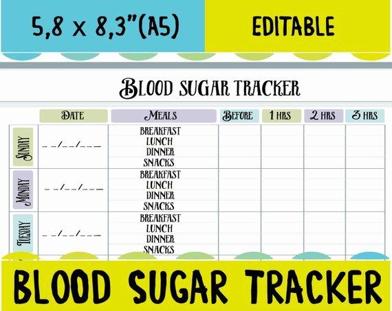 Blood Glucose Log Template Best Of Blood Sugar Tracker Diabetic Log Blood Sugar Log Blood