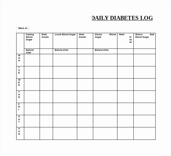 Blood Glucose Log Template Elegant Sample Blood Sugar Log Glucose Monitoring Template Sheet