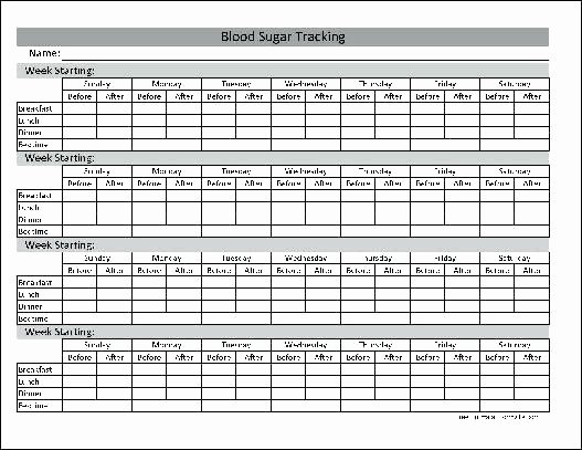 Blood Glucose Log Template Unique Gestational Diabetes Log Sheet and Blood Glucose