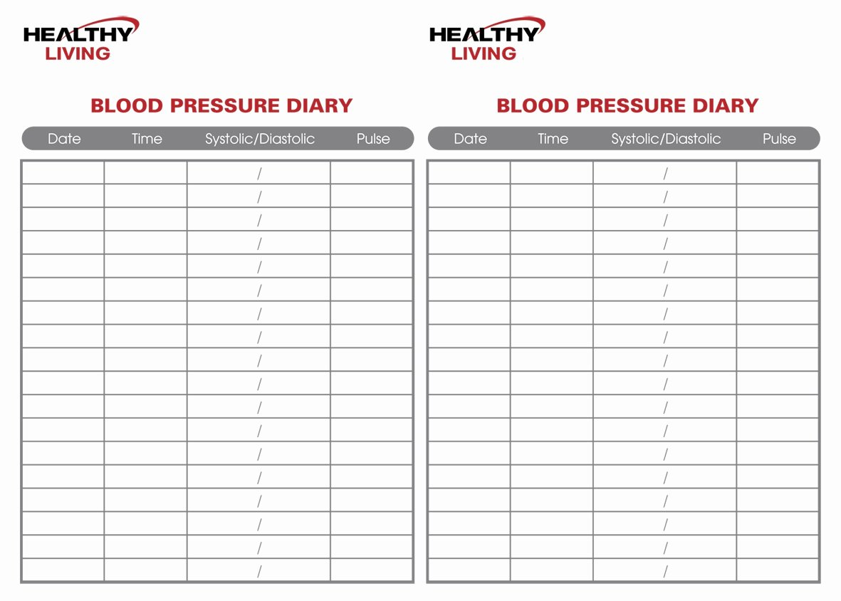 Blood Pressure Charting Template Best Of 19 Blood Pressure Chart Templates Easy to Use for Free