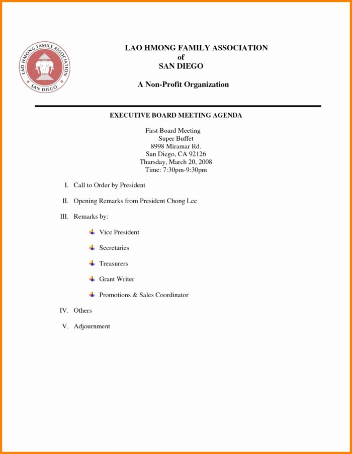 Board Meeting Agenda Template New Board Meeting Agenda Template Uk Templates Resume