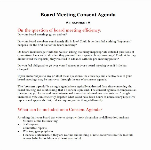 Board Meeting Minutes Template Word Lovely Sample Board Meeting Agenda Template 11 Free Documents