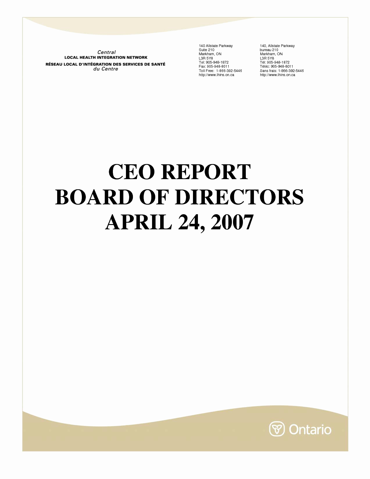 Board Of Directors Report Template Lovely Best S Of to the Ceo Reports Sample Annual Report