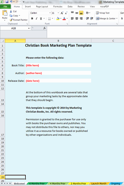 Book Marketing Plan Template Awesome Do You Need A Marketing Template