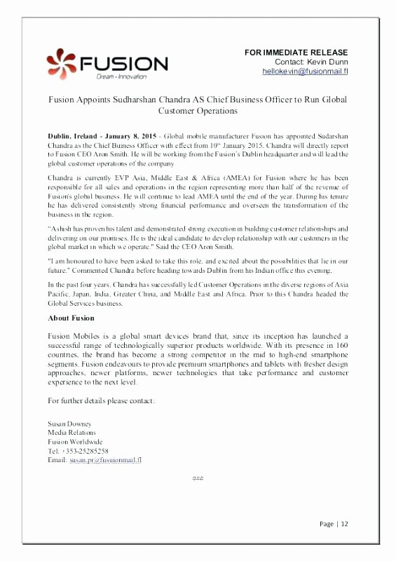 Book Press Release Template Awesome Free Release form Media Template 8 Sample Example