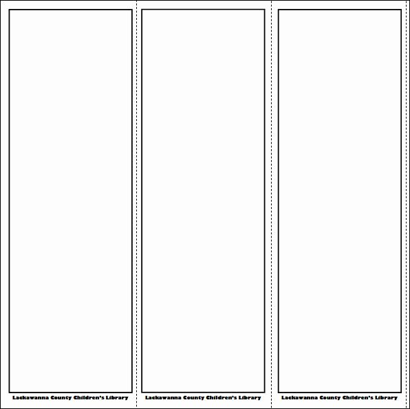 Bookmark Template for Pages Beautiful De 25 Bedste Idéer Inden for Bookmark Template På