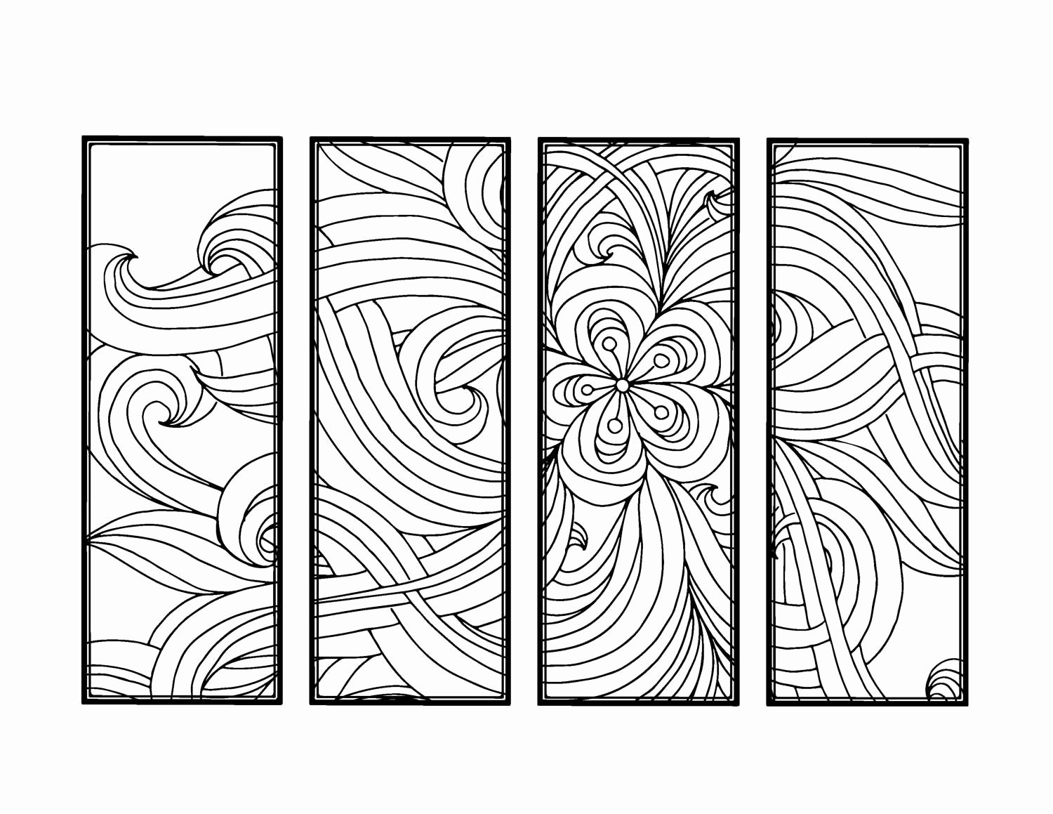 Bookmark Template for Pages Beautiful Diy Bookmarks Printable Coloring Page Adult Coloring Pages