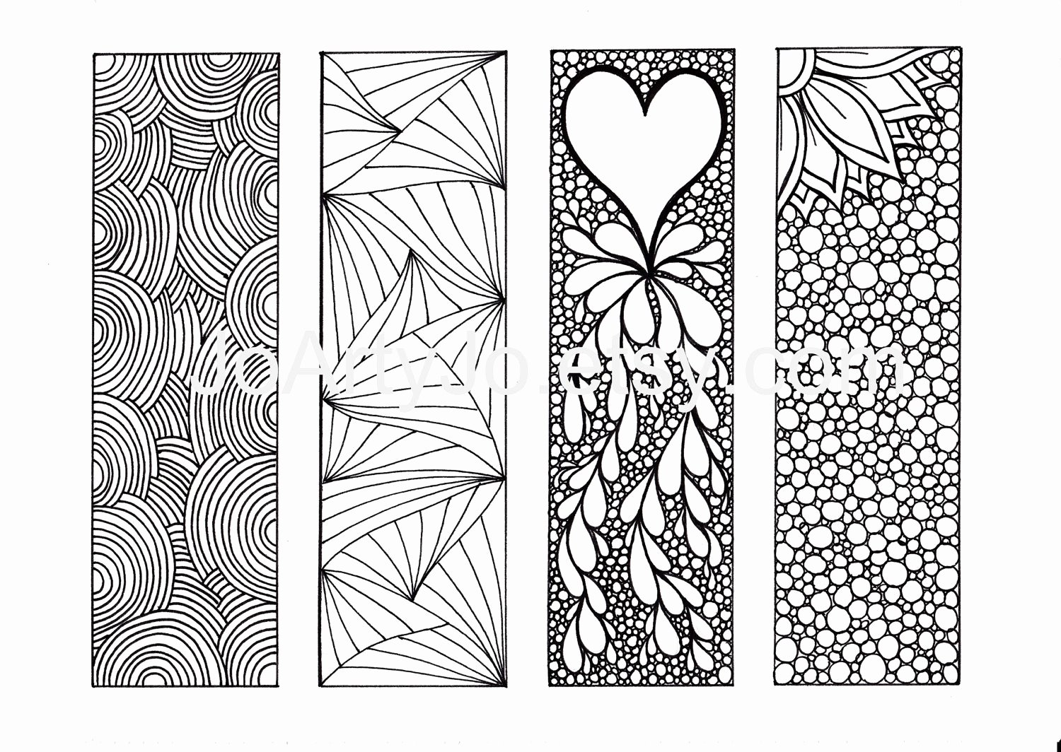 bookmark templates to print
