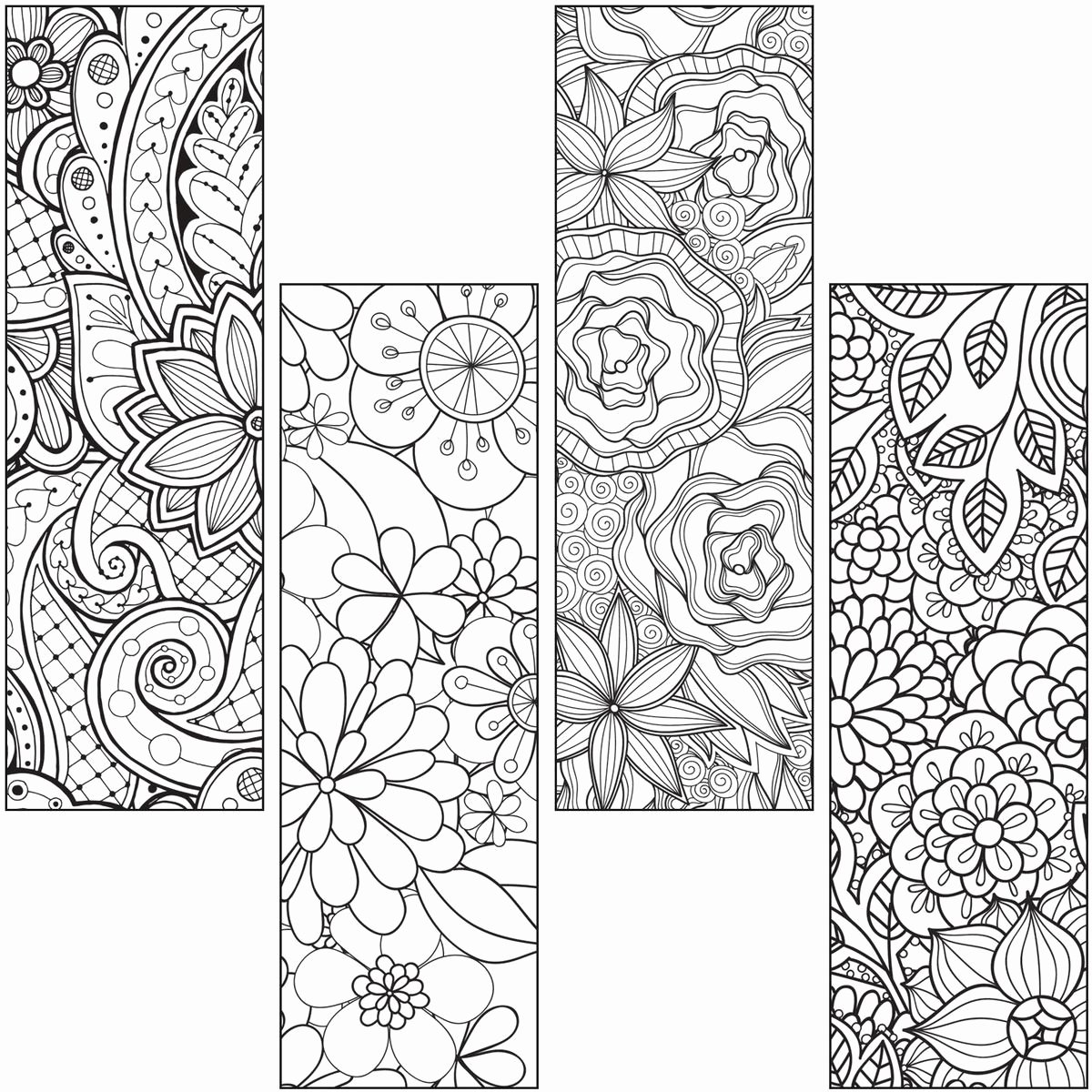 Bookmark Template for Pages Inspirational Colour Craze Bookmarks Gresswell Specialist Resources