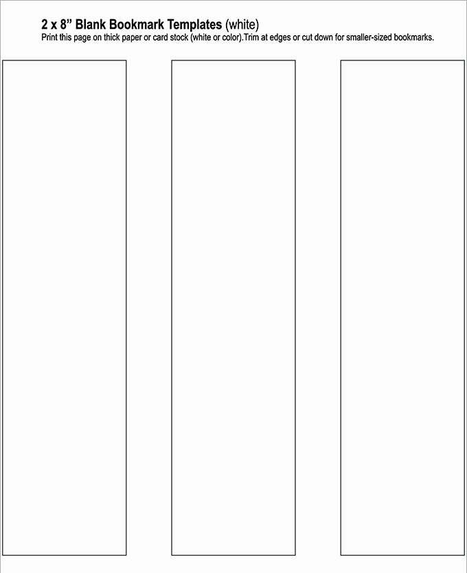 Bookmark Template for Pages Lovely Blank Bookmark Template 135 Free Psd Ai Eps Word