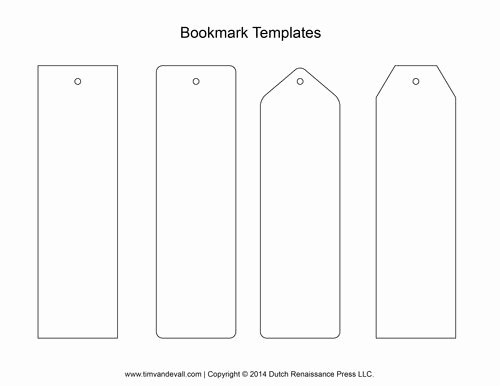 Bookmark Template for Pages Lovely Find the One You Want Print It Out On some Sturdy Paper