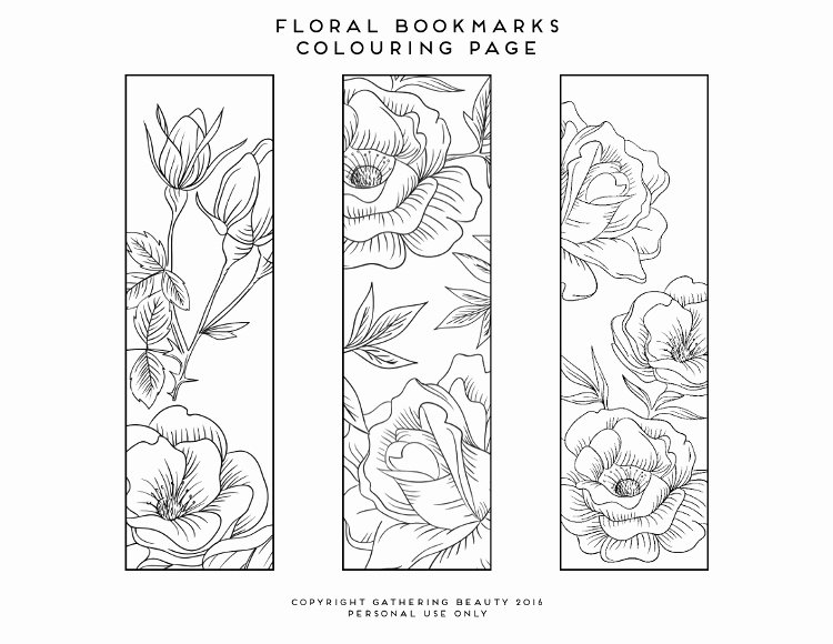 Bookmark Template for Pages Luxury Blank Coloring Bookmarks to Print Coloring Pages