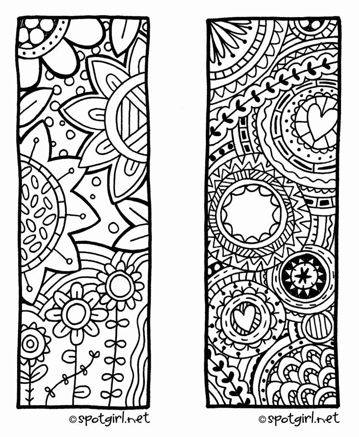 Bookmark Template for Pages Luxury Cool Bookmarks to Print Black and White