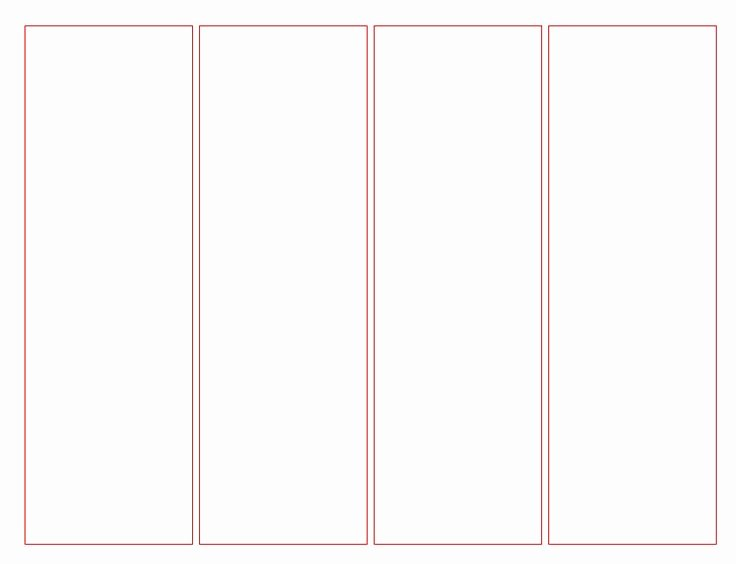 Bookmark Template for Pages New Blank Bookmark Template for Word