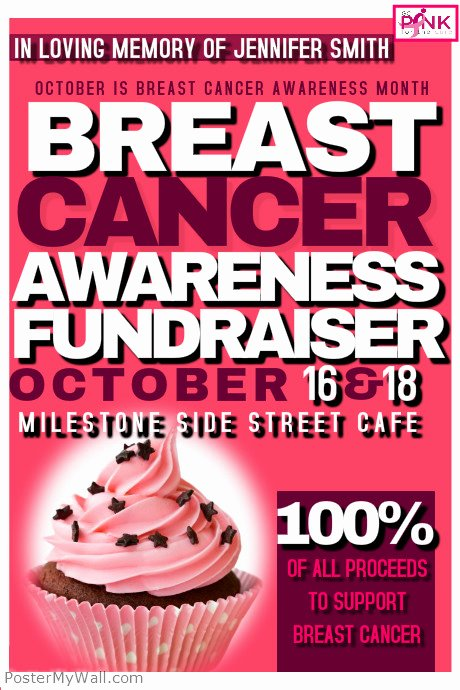 Breast Cancer Flyer Template Awesome Breast Cancer Awareness event Template