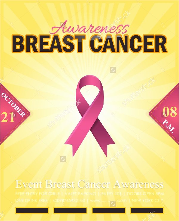 Breast Cancer Flyer Template Beautiful 15 Breast Cancer Flyer Design Templates Psd Ai Vector