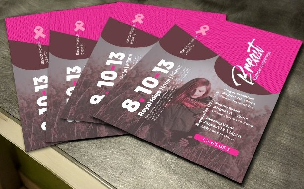 Breast Cancer Flyer Template Inspirational 27 Fundraising Flyer Templates Printable Psd Ai