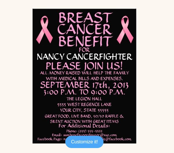 Breast Cancer Flyer Template Lovely 20 Breast Cancer Flyer Templates Psd Vector Eps Jpg