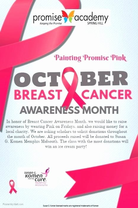 Breast Cancer Flyer Template New Breast Cancer Bowling Benefit Flyer Fundraiser Strike