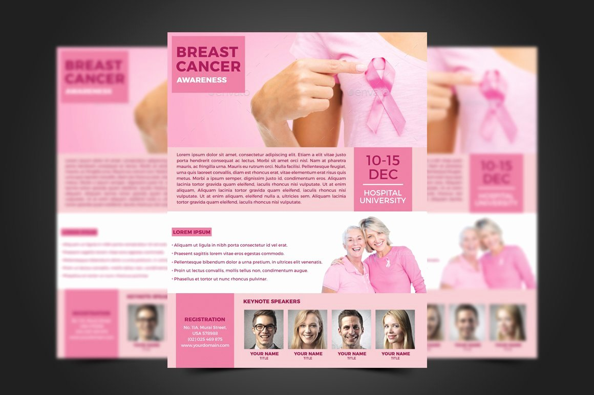 Breast Cancer Flyer Template New Breast Cancer Flyer Template Flyer Templates Creative