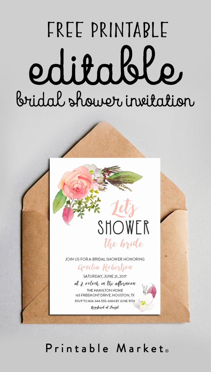 Bridal Shower Invitations Template Best Of Best 25 Bridal Shower Invitations Ideas On Pinterest
