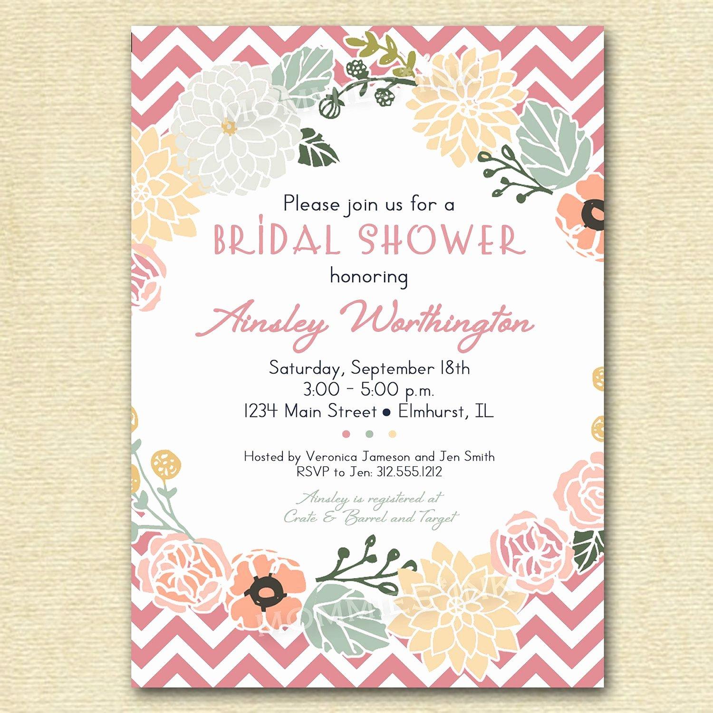 Bridal Shower Invitations Template Elegant event Invitation Graduation Invitations New Invitation