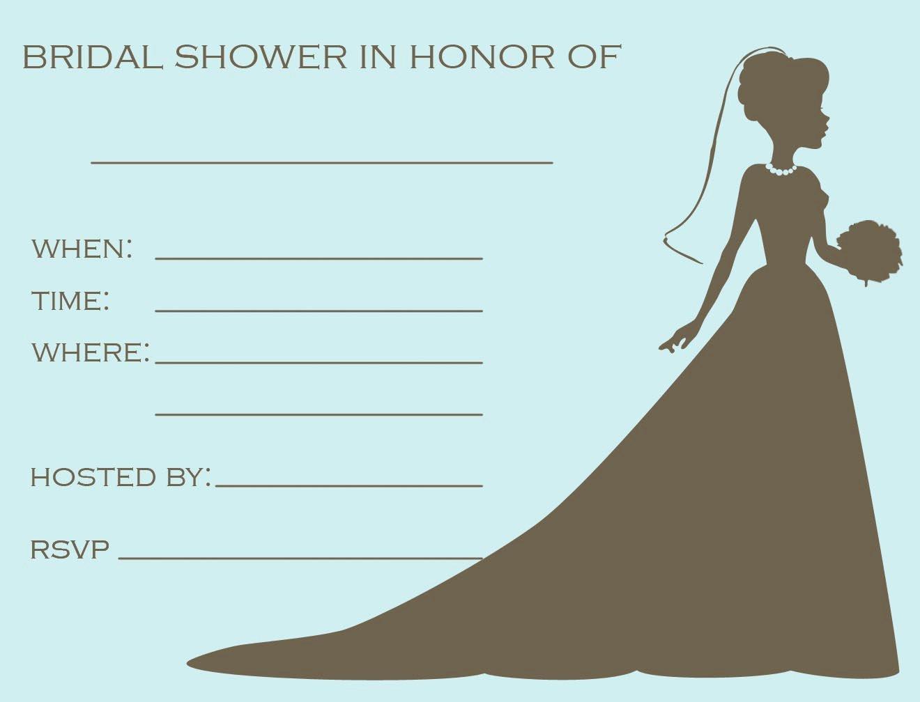 Bridal Shower Invitations Template Inspirational 12 Mesmerizing Free Bridal Shower Flyer Templates Demplates