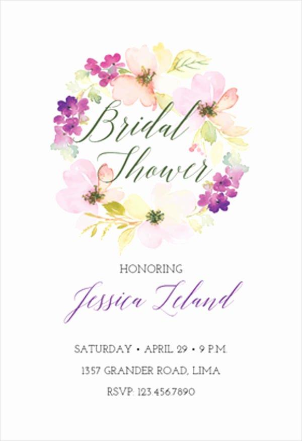 Bridal Shower Invitations Template Inspirational 7 Diy Gift Card Templates Design Templates