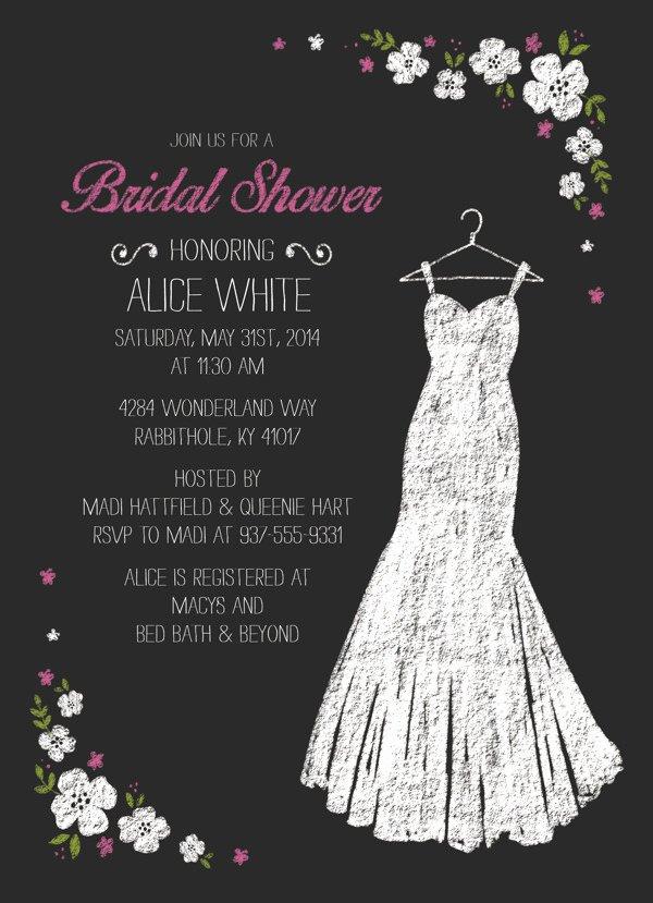 Bridal Shower Invitations Template New 26 Wedding Shower Invitation Template Psd Ai Vector