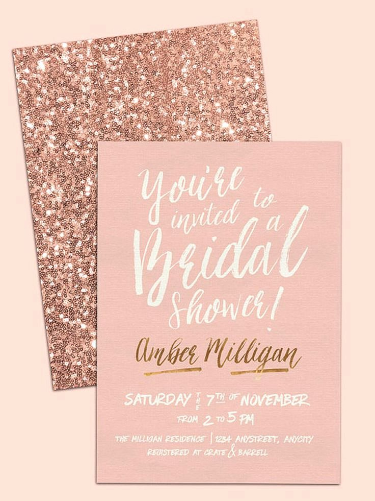 Bridal Shower Invitations Template New Best 25 Shower Invitations Ideas On Pinterest