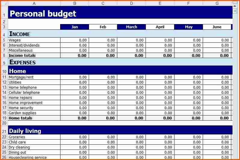 Budget Excel Template Mac Awesome Personal Bud Excel Template Mac Personal Bud