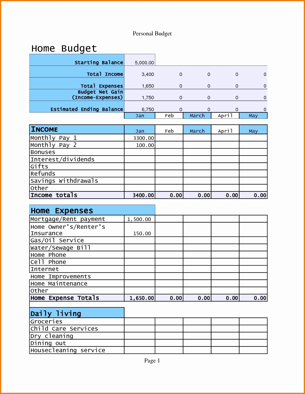 Budget Excel Template Mac Elegant Bud Spreadsheet Template Mac Excel Spreadsheet Template