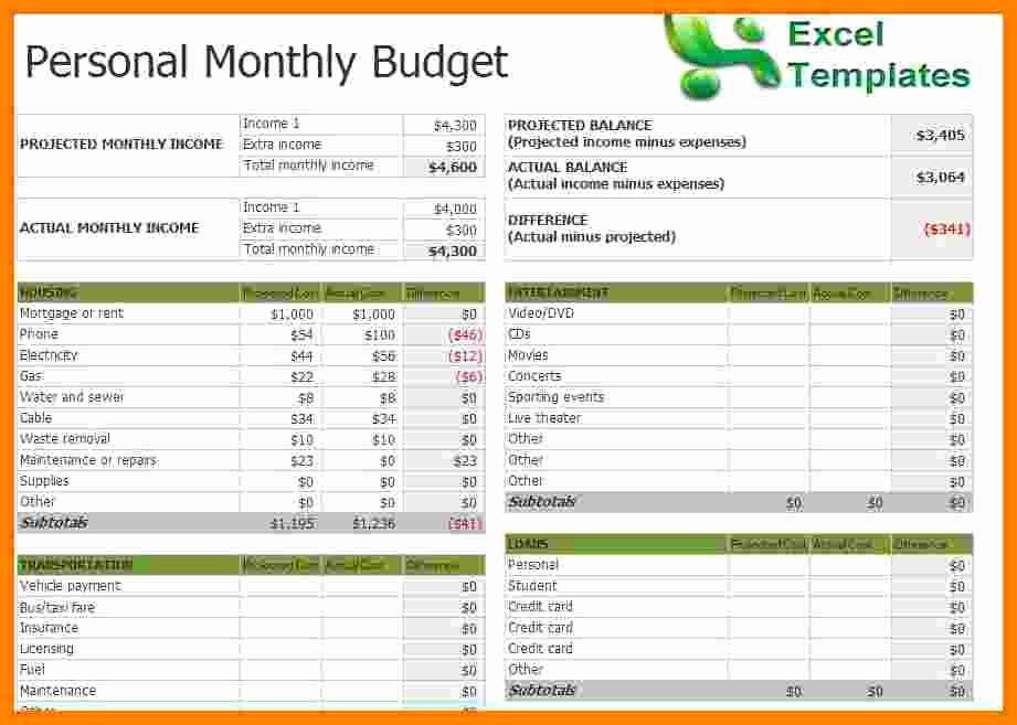Budget Excel Template Mac Inspirational 9 Excel Bud Template Mac