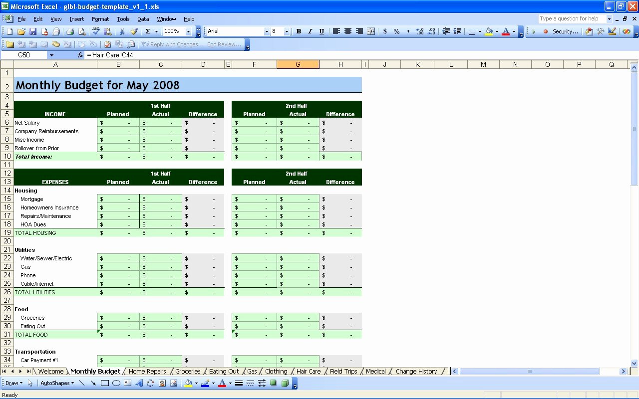 Budget Template for Business New Financial Bud Spreadsheet Template Bud Spreadsheet