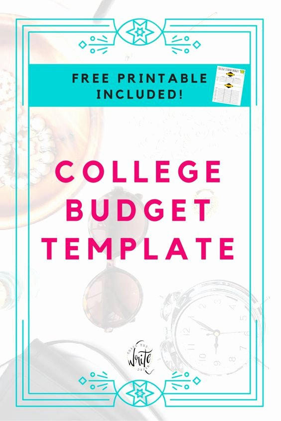 Budget Template for College Students New Bud Templates Templates Free and Colleges On Pinterest