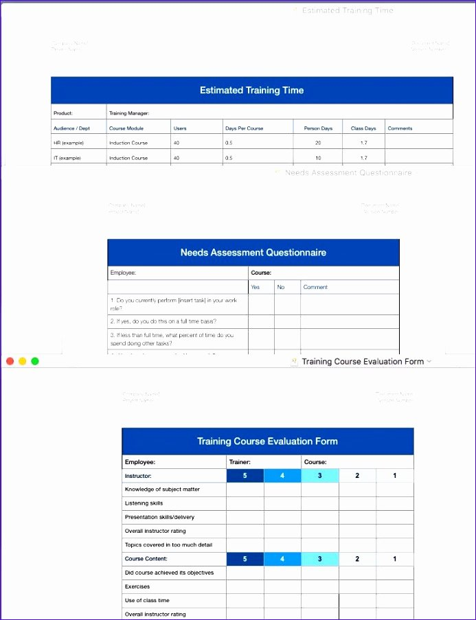 Budget Template for Numbers Mac Awesome 10 Business Bud Excel Template Exceltemplates