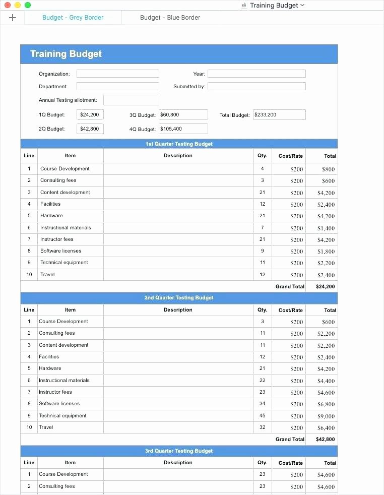 Budget Template for Numbers Mac New Functional Requirements Spreadsheet In Apple Numbers