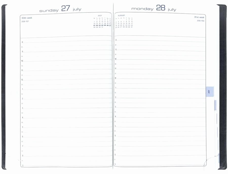 Bullet Journal Excel Template Awesome Calendar Journal Template Printable Planner Page Weekly