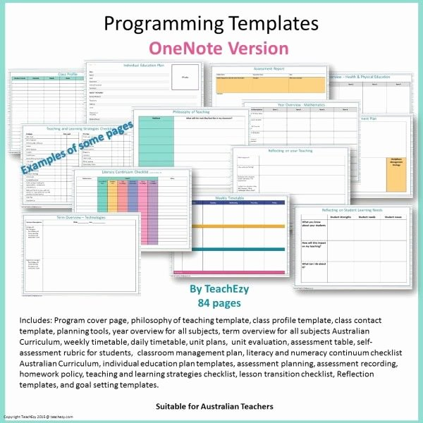Bullet Journal Excel Template Inspirational 12 Best Onenote Templates Images On Pinterest
