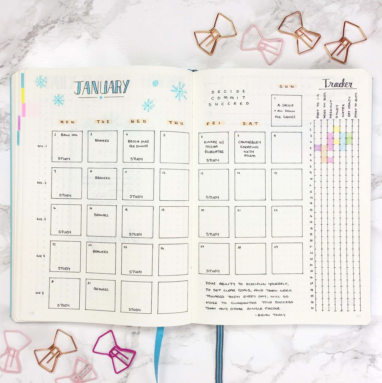 Bullet Journal Excel Template Luxury Templates Kate Louise