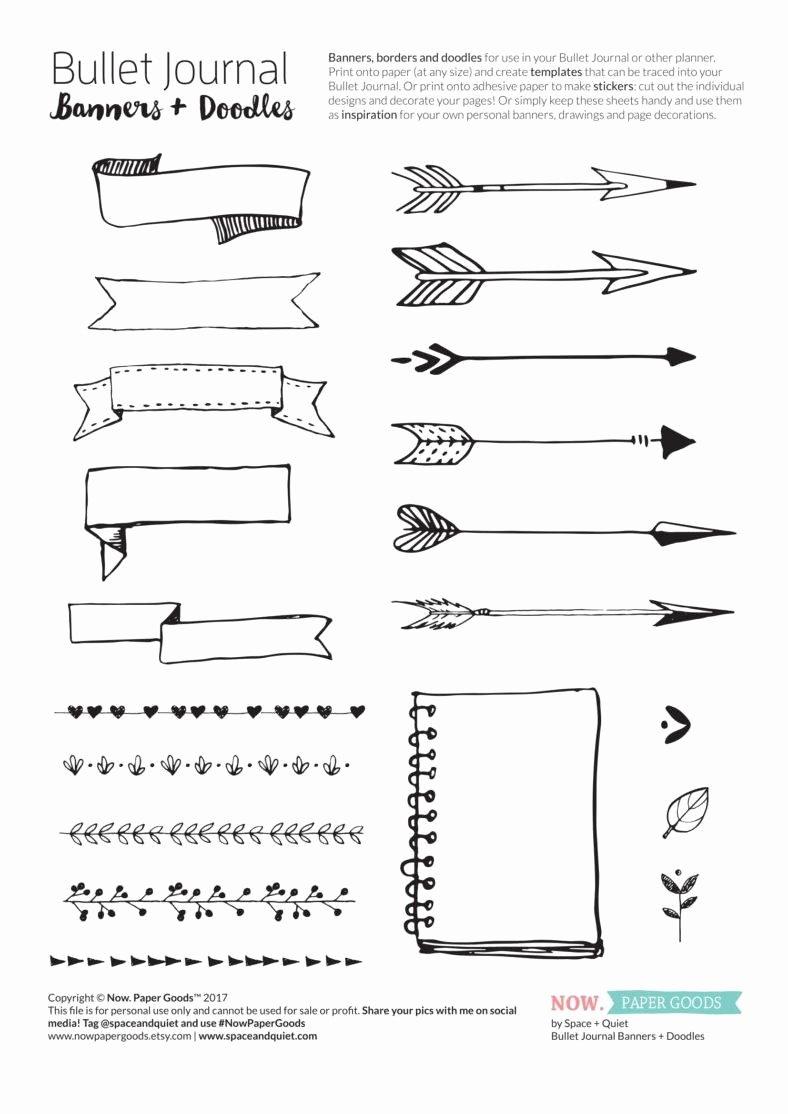Bullet Journal Pdf Template Fresh 5 Free Bullet Journal Templates Pdf