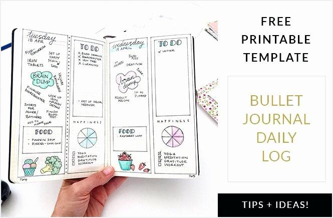 Bullet Journal Pdf Template Fresh Sample Dream Journal Template Pdf Business Templates for