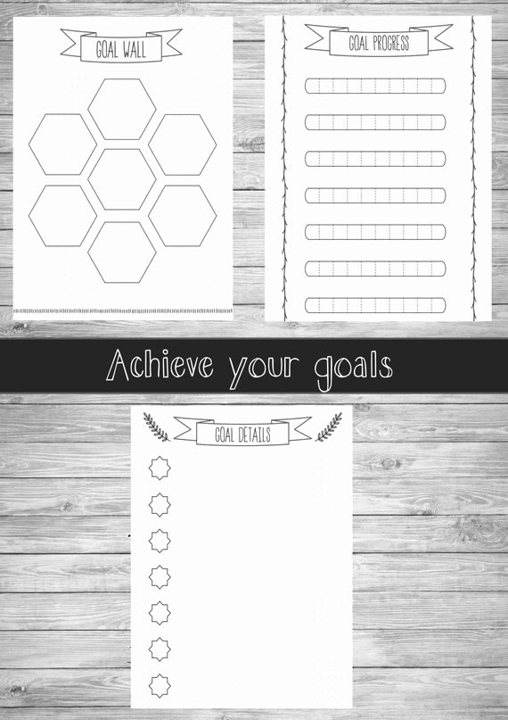 Bullet Journal Pdf Template Lovely Bullet Journal Printable Pages Planner A5 A4 Us